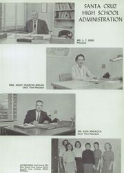 Page 9, 1958 Edition, Santa Cruz High School - Cardinal Yearbook (Santa Cruz, CA) online yearbook collection