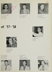 Page 15, 1958 Edition, Santa Fe High School - Legend Yearbook (Santa Fe Springs, CA) online yearbook collection
