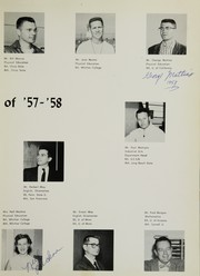 Page 17, 1958 Edition, Santa Fe High School - Legend Yearbook (Santa Fe Springs, CA) online yearbook collection