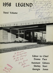 Page 5, 1958 Edition, Santa Fe High School - Legend Yearbook (Santa Fe Springs, CA) online yearbook collection