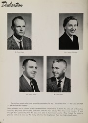 Page 6, 1959 Edition, Santa Fe High School - Legend Yearbook (Santa Fe Springs, CA) online yearbook collection