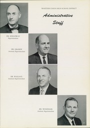 Page 11, 1960 Edition, Santa Fe High School - Legend Yearbook (Santa Fe Springs, CA) online yearbook collection