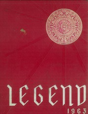 1963 Edition, Santa Fe High School - Legend Yearbook (Santa Fe Springs, CA)