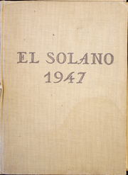 1947 Edition, Santa Paula High School - El Solano Yearbook (Santa Paula, CA)