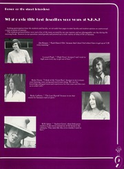Page 13, 1975 Edition, Santana High School - Yearbook (Santee, CA) online yearbook collection