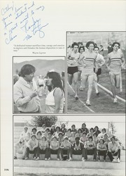 Page 110, 1981 Edition, Santana High School - Yearbook (Santee, CA) online yearbook collection