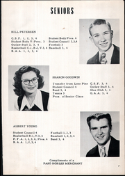 Page 11, 1954 Edition, Shandon High School - Outlaw Yearbook (Shandon, CA) online yearbook collection