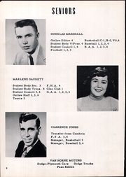 Page 12, 1954 Edition, Shandon High School - Outlaw Yearbook (Shandon, CA) online yearbook collection