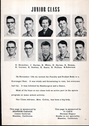 Page 15, 1954 Edition, Shandon High School - Outlaw Yearbook (Shandon, CA) online yearbook collection