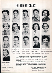 Page 17, 1954 Edition, Shandon High School - Outlaw Yearbook (Shandon, CA) online yearbook collection