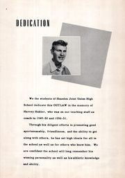 Page 5, 1954 Edition, Shandon High School - Outlaw Yearbook (Shandon, CA) online yearbook collection