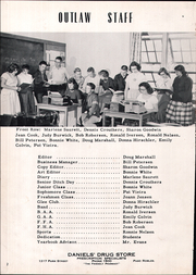 Page 6, 1954 Edition, Shandon High School - Outlaw Yearbook (Shandon, CA) online yearbook collection