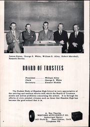 Page 8, 1954 Edition, Shandon High School - Outlaw Yearbook (Shandon, CA) online yearbook collection