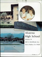 Page 5, 1982 Edition, Alverno High School - Troubadour Yearbook (Sierra Madre, CA) online yearbook collection