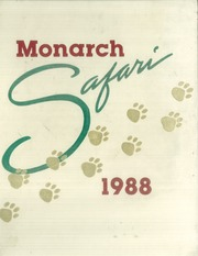 1988 Edition, Monte Vista High School - Monarchs Yearbook (Spring Valley, CA)