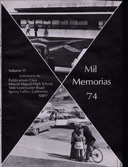 Page 7, 1974 Edition, Mount Miguel High School - Mil Memorias Yearbook (Spring Valley, CA) online yearbook collection