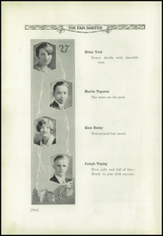Page 14, 1927 Edition, St Helena High School - Silverado Yearbook (St Helena, CA) online yearbook collection