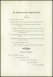 Page 8, 1927 Edition, St Helena High School - Silverado Yearbook (St Helena, CA) online yearbook collection