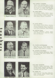 Page 12, 1955 Edition, St Helena High School - Silverado Yearbook (St Helena, CA) online yearbook collection