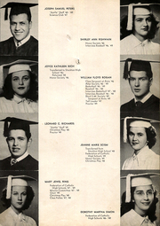 Page 17, 1949 Edition, St Marys High School - Cauldron Yearbook (Stockton, CA) online yearbook collection