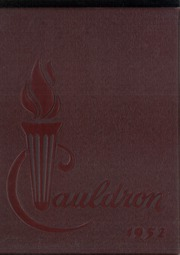 1952 Edition, St Marys High School - Cauldron Yearbook (Stockton, CA)