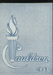 1953 Edition, St Marys High School - Cauldron Yearbook (Stockton, CA)