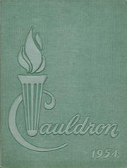 1954 Edition, St Marys High School - Cauldron Yearbook (Stockton, CA)