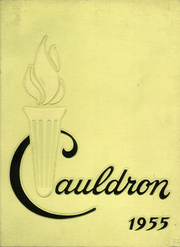 1955 Edition, St Marys High School - Cauldron Yearbook (Stockton, CA)