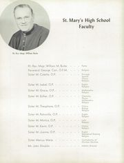 Page 10, 1956 Edition, St Marys High School - Cauldron Yearbook (Stockton, CA) online yearbook collection