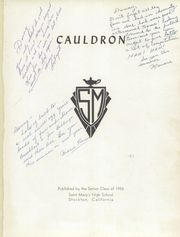 Page 5, 1956 Edition, St Marys High School - Cauldron Yearbook (Stockton, CA) online yearbook collection