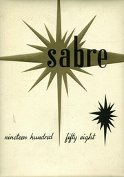 1958 Edition, Sunnyvale High School - Sabre Yearbook (Sunnyvale, CA)