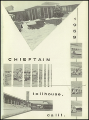 Page 5, 1959 Edition, Sierra Joint Union High School - Chieftain Yearbook (Tollhouse, CA) online yearbook collection
