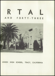 Page 7, 1943 Edition, Tracy High School - El Portal Yearbook (Tracy, CA) online yearbook collection
