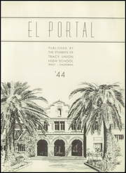 Page 5, 1944 Edition, Tracy High School - El Portal Yearbook (Tracy, CA) online yearbook collection
