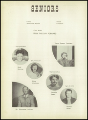 Page 8, 1953 Edition, Tranquillity High School - Tule Yearbook (Tranquillity, CA) online yearbook collection