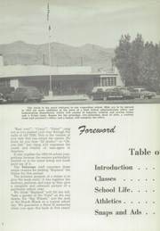 Page 6, 1954 Edition, Trona High School - Telescope Yearbook (Trona, CA) online yearbook collection