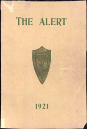 Turlock High School - Alert Yearbook (Turlock, CA) online yearbook collection, 1921 Edition, Page 1