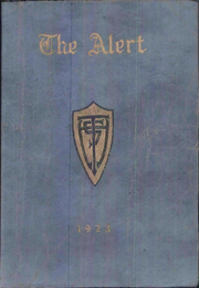 Turlock High School - Alert Yearbook (Turlock, CA) online yearbook collection, 1923 Edition, Page 1