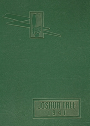 1941 Edition, Victor Valley High School - Joshua Tree Yearbook (Victorville, CA)