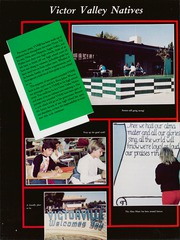 Page 8, 1985 Edition, Victor Valley High School - Joshua Tree Yearbook (Victorville, CA) online yearbook collection