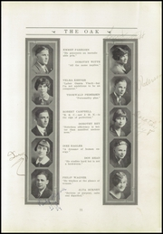 Page 15, 1926 Edition, Redwood High School - Oak Yearbook (Visalia, CA) online yearbook collection