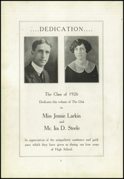Page 8, 1926 Edition, Redwood High School - Oak Yearbook (Visalia, CA) online yearbook collection