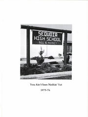 Page 5, 1976 Edition, Sequoia High School - Yearbook (Visalia, CA) online yearbook collection