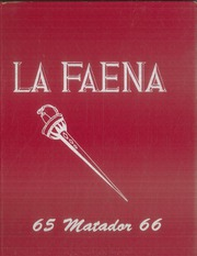 Coronado High School - La Faena Yearbook (West Covina, CA) online yearbook collection, 1966 Edition, Page 1