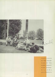 Page 9, 1941 Edition, Willows High School - Tattler Yearbook (Willows, CA) online yearbook collection