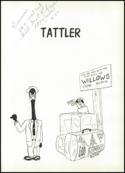 Page 5, 1956 Edition, Willows High School - Tattler Yearbook (Willows, CA) online yearbook collection