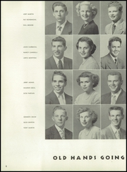 Page 12, 1952 Edition, Winters High School - Poppy Yearbook (Winters, CA) online yearbook collection