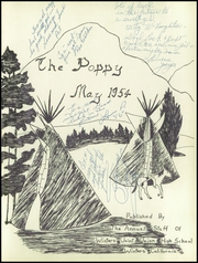 Page 5, 1954 Edition, Winters High School - Poppy Yearbook (Winters, CA) online yearbook collection