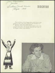 Page 7, 1954 Edition, Winters High School - Poppy Yearbook (Winters, CA) online yearbook collection