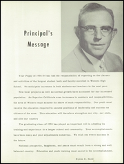 Page 7, 1955 Edition, Winters High School - Poppy Yearbook (Winters, CA) online yearbook collection